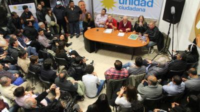 """Taiana en La Plata: """"No hay que dejarse varear, quieren instalar que los problemas de la Argentina son culpa de los trabajadores"""""""