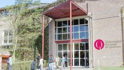 El rector de la UNQUI propuso que el debate de Senadores se haga en una universidad bonaerense