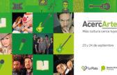 'AcercArte' en La Plata: tocarán gratis el Chaqueño Palavecino y Karina en Plaza Moreno