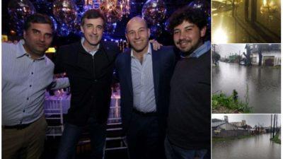 Bullrich recibió críticas por participar de una fiesta de campaña en Quilmes, mientras estaba inundado por el temporal