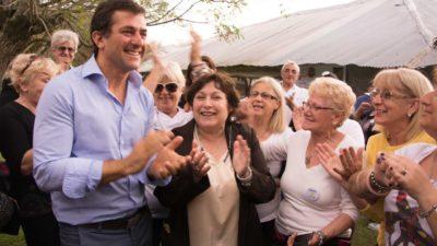 Gribaudo y Ocaña festejaron el día del jubilado en Campana