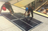 La Plata / Sigue avanzando la primera sala con energía solar de Latinoamérica