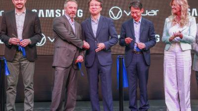 Se inauguró la segunda planta de Visuar-Samsung en Cañuelas