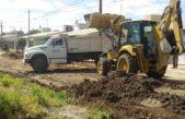 Necochea / Continúa a paso firme la mejora de calles de tierra para optimizar el servicio de micros