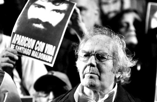 """El Nobel de la Paz, Pérez Esquivel rechazó la visita de Netanyahu """"brinda protección a un represor de la dictadura"""""""