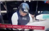 """""""El Pata"""" Medina se entregó y después detuvieron a toda su familia"""
