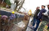 """Gral Rodríguez / Con el acompañamiento del gobierno nacional avanzan obras hidráulicas """"estructurales"""""""