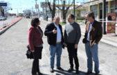 Fabián Perechodnik recorrió obras de pavimentación en la Ciudad de Tandil
