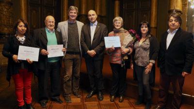La Plata / Homenajearon a inmigrantes con más de 40 años en el país