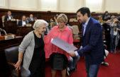 La ex bailarina Marta Cipriano fue declarada personalidad destacada de la cultura en el concejo deliberante platense