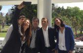 La Plata / Bucca recorrió la ciudad junto a los candidatos Di Marzio, Lambertini y Fernández Camillo