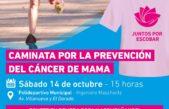 Escobar / Lanzan campaña para concientizar sobre el cáncer de mama