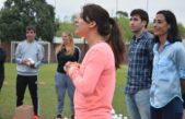 La ex Leona, Inés Arrondo reunió a más de 200 jóvenes en una clínica de Hockey en La Plata