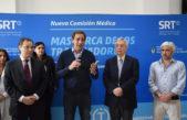 La Plata / Se inauguró el nuevo edificio de la Comisión Médica de los trabajadores