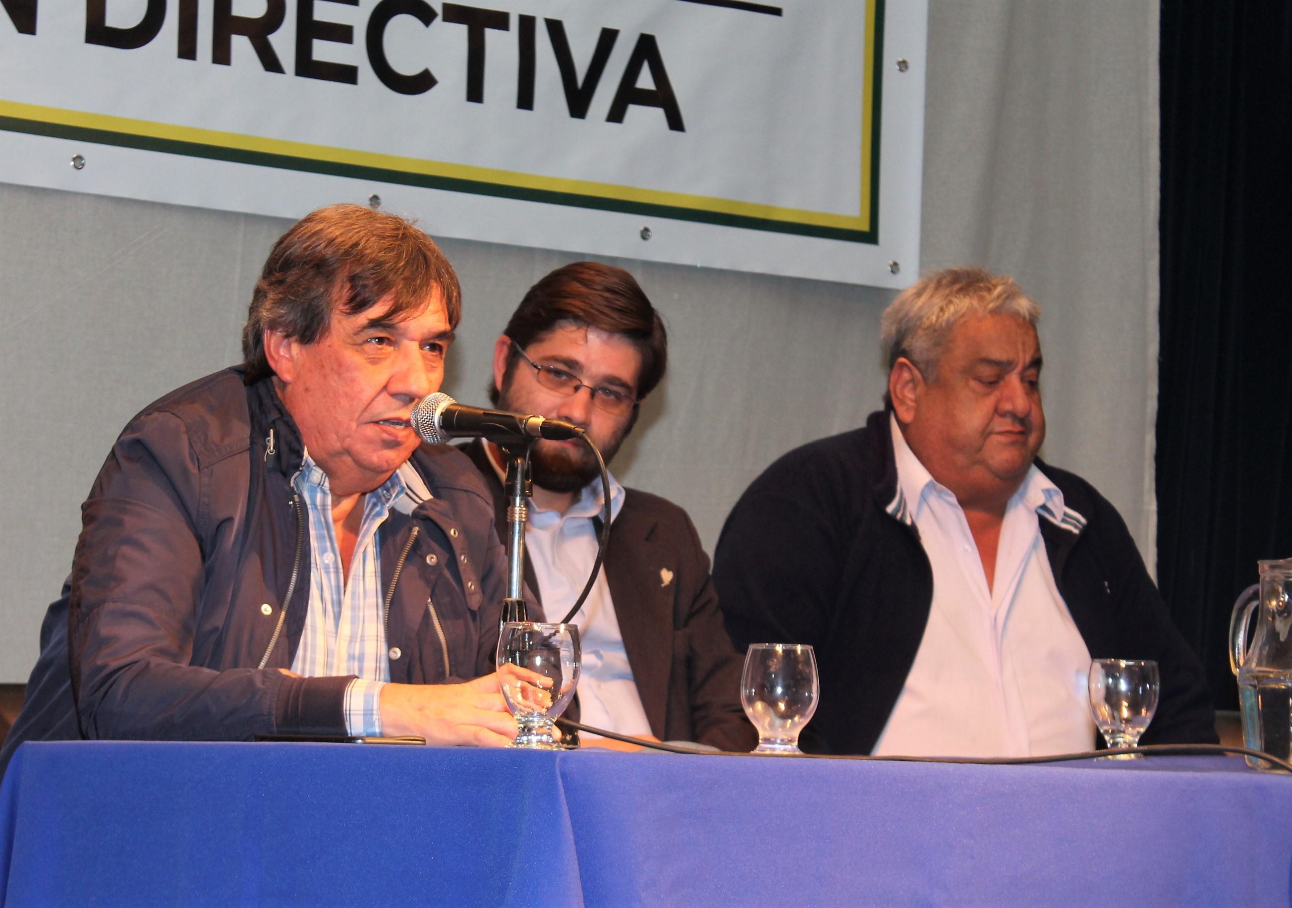 """Rubén Cholo García: """"El intendente de Avellaneda es un mentiroso político"""""""