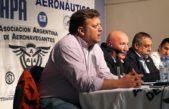 Aeronavengantes contra el techo del 16% para 2018