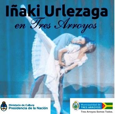 """Llega a """"La Traviata"""" del reconocido bailarín """"Iñaki"""" Urlezaga a Tres Arroyos"""