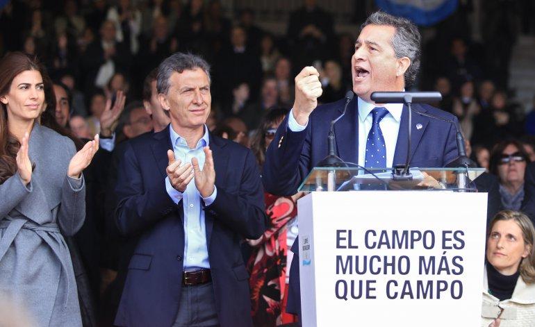 Etchevere el ex titular de la Sociedad Rural es el nuevo Ministro de Agricultura de Macri