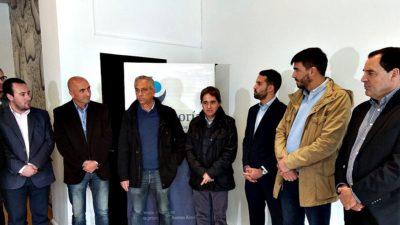 Lorenzino inauguró una nueva delegación de la Defensoría del Pueblo en Olavarría