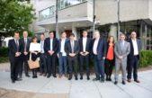 Una comitiva encabezada por Mosca y Lacunza visitó organismos de financiamiento en Washington