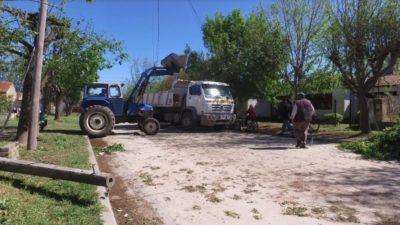 Bolívar / Pirovano se recupera al paso de un tornado y suspendió los festejos de su aniversario