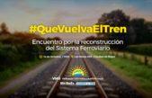 Rojas recibe una cumbre de organizaciones que luchan por la recuperación de los trenes