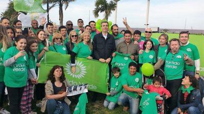 Vicente López / Randazzo recibió el apoyo del Partido Verde que apunta al cuidado del medio ambiente