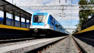 El tren eléctrico a La Plata sería inaugurado la próxima semana