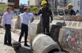 """La Plata / Garro recorrió las obras en las inmediaciones del ex mercado """"recuperamos un espacio importante de la historia de la ciudad"""""""