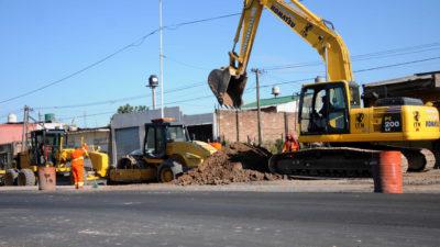"""Morón / Tagliaferro: """"En 22 meses arrancamos las obras que se necesitaban desde hace mucho tiempo"""""""