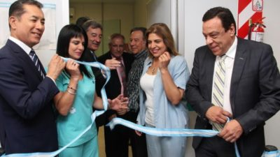 Zárate / Cáffaro inauguró el mamógrafo en el Hospital Municipal