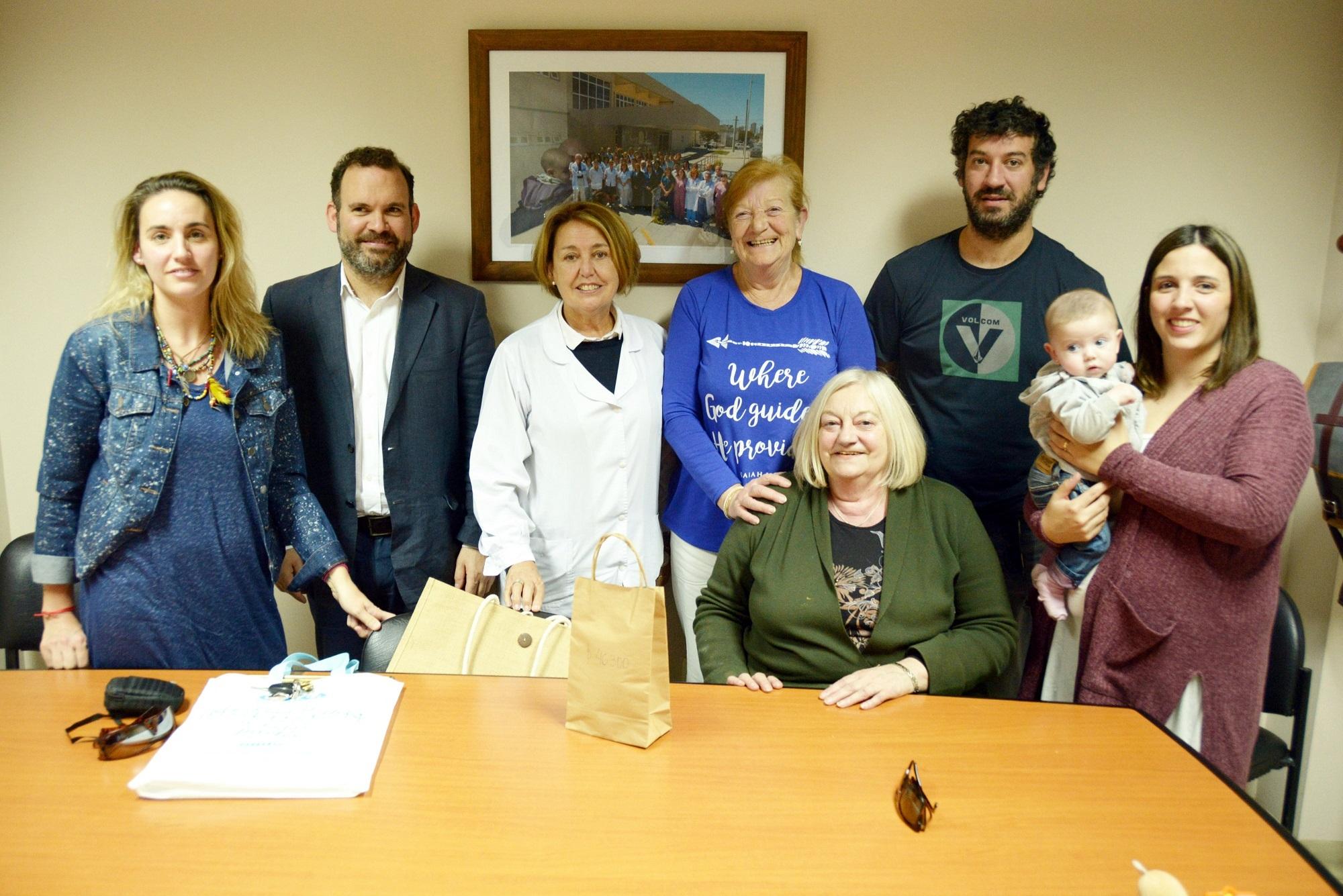 Zumbathon solidario: el Hospital de Niños recibió una donación de lo recaudado en el evento
