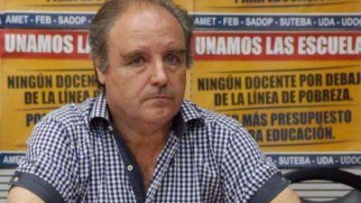 """""""Vamos a insistir con el blanqueo de las sumas en negro"""", dijo Miguel Díaz de Udocba"""