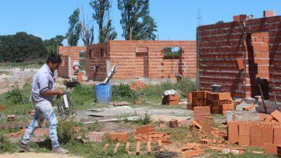 Castelli / Avanza la construcción del primer Barrio Policía