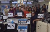 Los trabajadores de DyN rechazan el cierre de la agencia propiedad de Clarín y La Nación