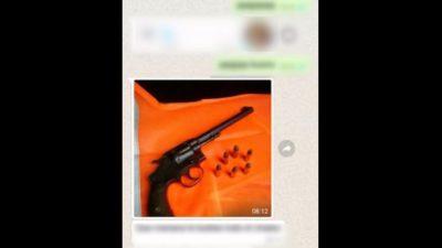 Madariaga / Amenazó a su ex por WhatsApp y terminó detenido