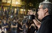 Masiva movilización de SATSAID por salario y contra la reforma laboral
