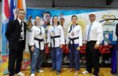 Campeones nacionales: destacada actuación de taekwondistas de San Isidro