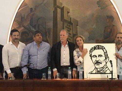 Homenajearon a Ignacio Rucci en la CGT