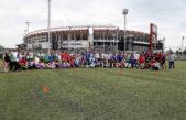 Hurlingham / 150 chicos con discapacidad participaron de un programa de inclusión en River Plate