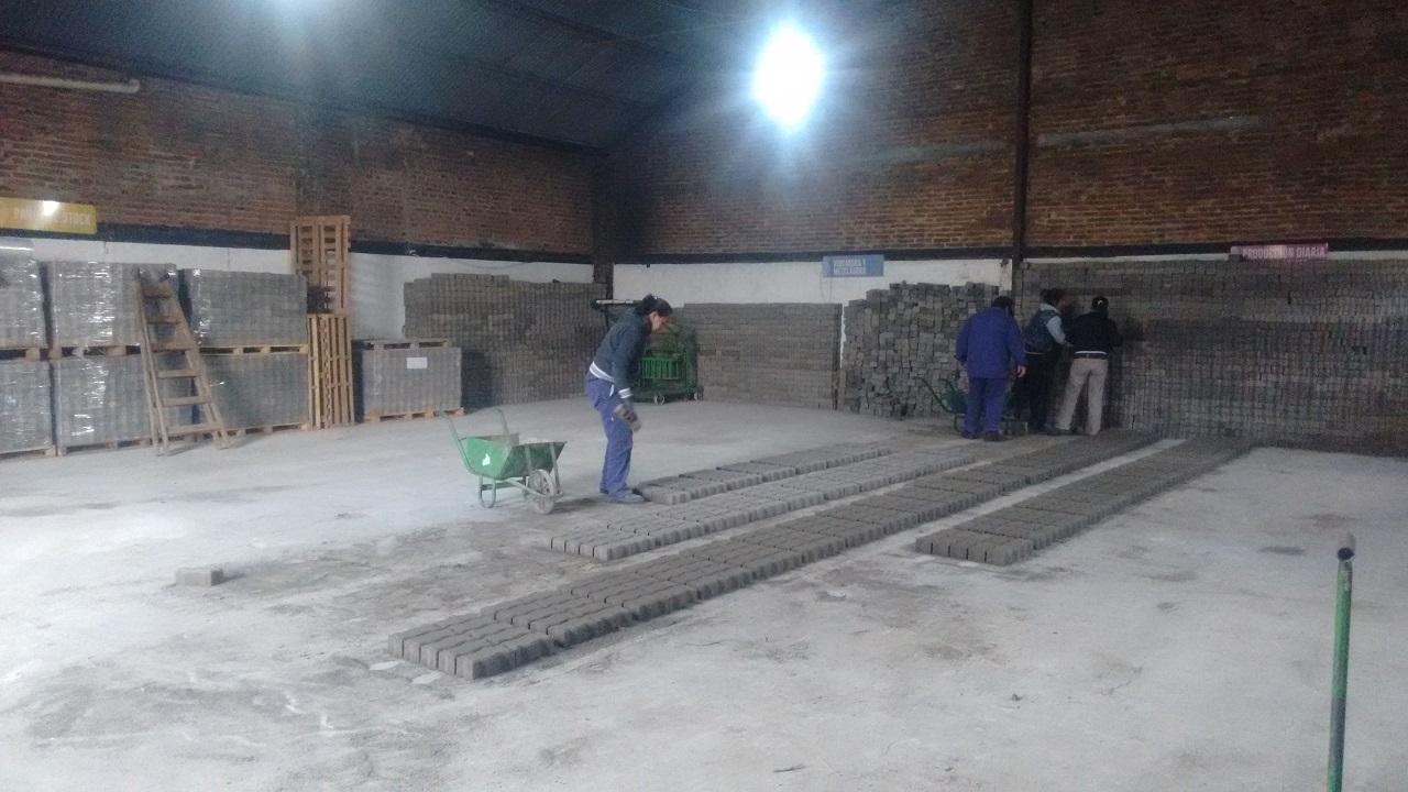 """Rojas / """"Argentina Trabaja"""": rampas para discapacitados e incremento de la producción"""
