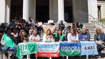 La Plata / Los gremios docentes reclaman que se ejecute la totalidad del Fondo Educativo