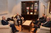 El vice gobernador Salvador y autoridades del Colegio de Escribanos analizaron la realidad de la provincia