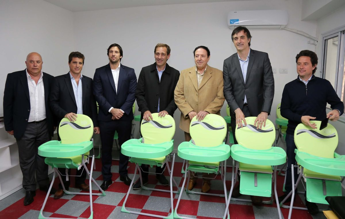 Fue inaugurado el Jardín Maternal en el Hipódromo de La Plata