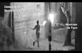Video / un hombre arrojó una bomba molotov en la casa de su ex pareja en General Pacheco