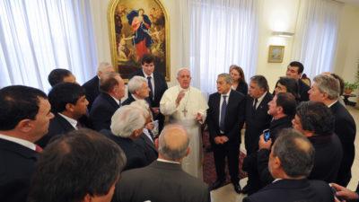 Con la Reforma Laboral de fondo, unos 35 sindicalistas viajarán a Roma para dialogar con el Papa Francisco