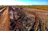 Vecinos autoconvocados reclaman la repavimentación de la Ruta Provincial N° 20