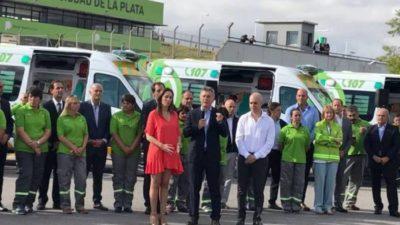 """Presupuesto 2018: el objetivo es """"incorporar el SAME a los 135 municipios"""""""