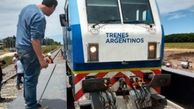 Papelón: El flamante puente ferroviario de Luján es muy angosto y no pasan los trenes