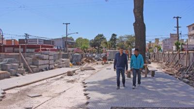 La Costa / Mar de Ajó remodela la avenida Libertador para recibir a los turistas en la próxima temporada